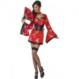 kostým japonské gejši