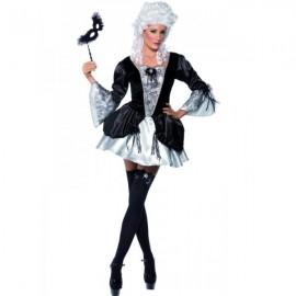 Luxusní kostým baronky
